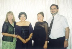 Muriel, Maria, Raquel and Terry
